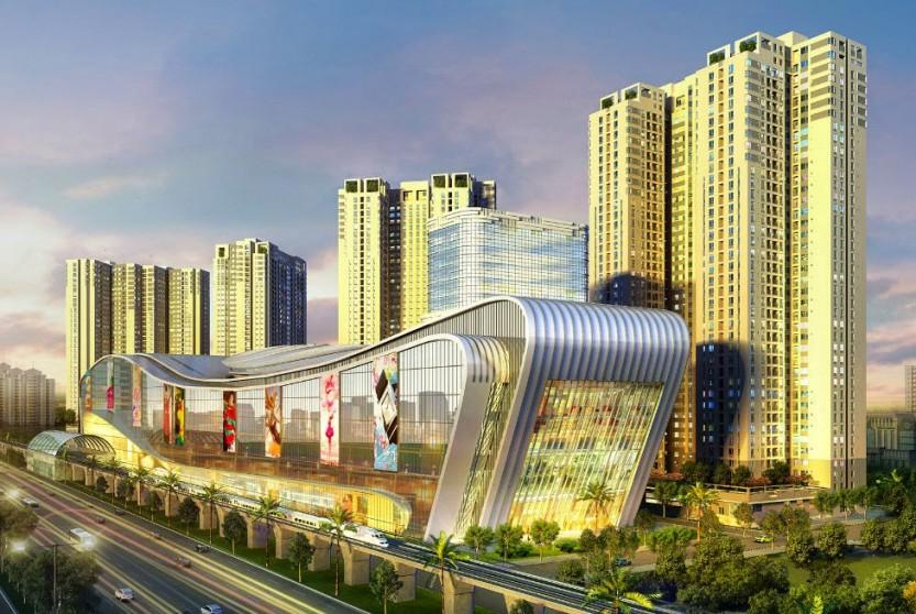 Vincom Megamall Thảo Điền - một trong những công trình BSe cung cấp và lắp đặt hệ thống điện trung thế